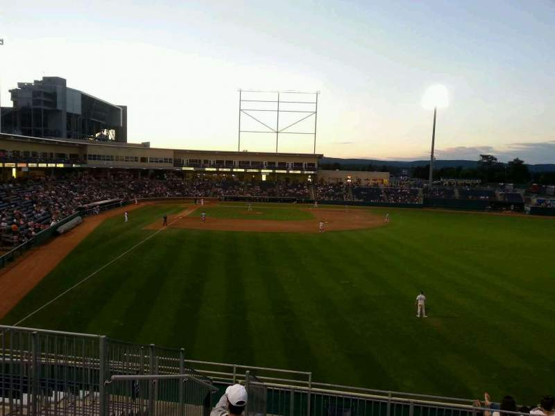 Seating view for Medlar Field at Lubrano Park Section 402 Row 13 Seat 7
