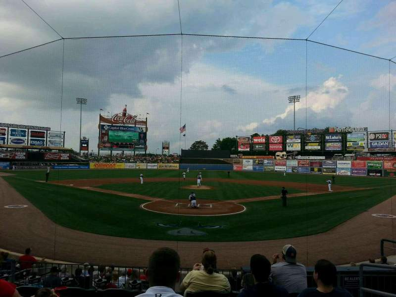 Seating view for Coca-Cola Park Section 112 Row p Seat 9