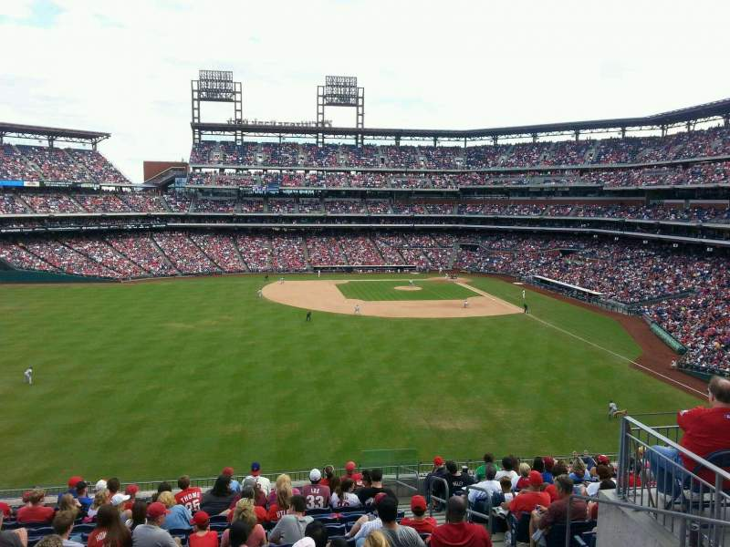 Seating view for Citizens Bank Park Section Harry the K's