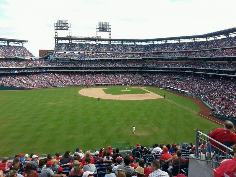 Seating view for Citizens Bank Park Section na Row na Seat na