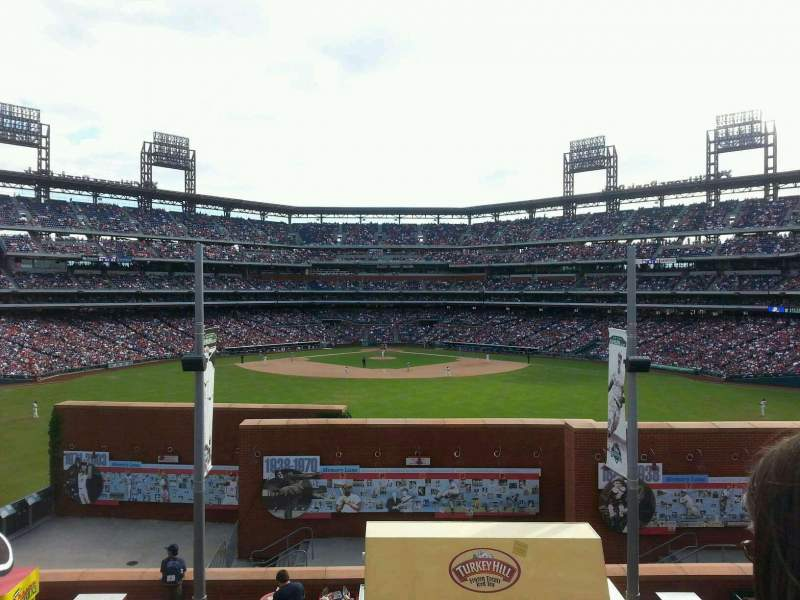Seating view for Citizens Bank Park Section na Row na Seat ns