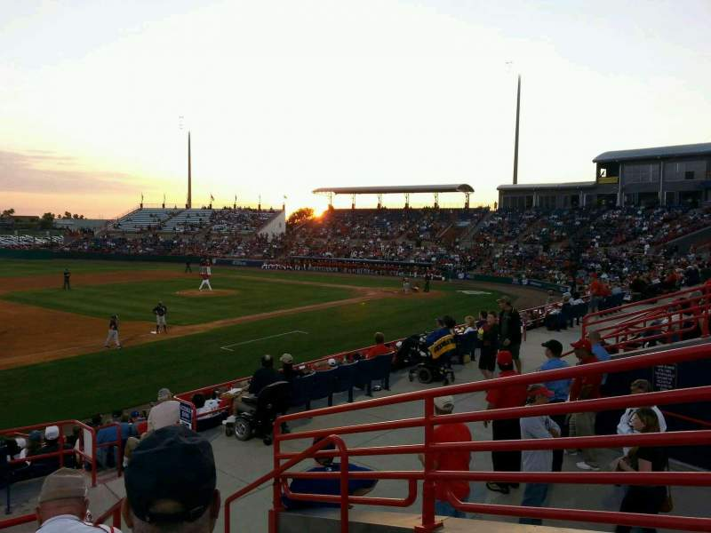 Space Coast Stadium, section: 203, row: 5, seat: 1