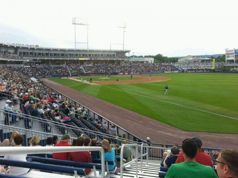 Seating view for PNC Field Section ga