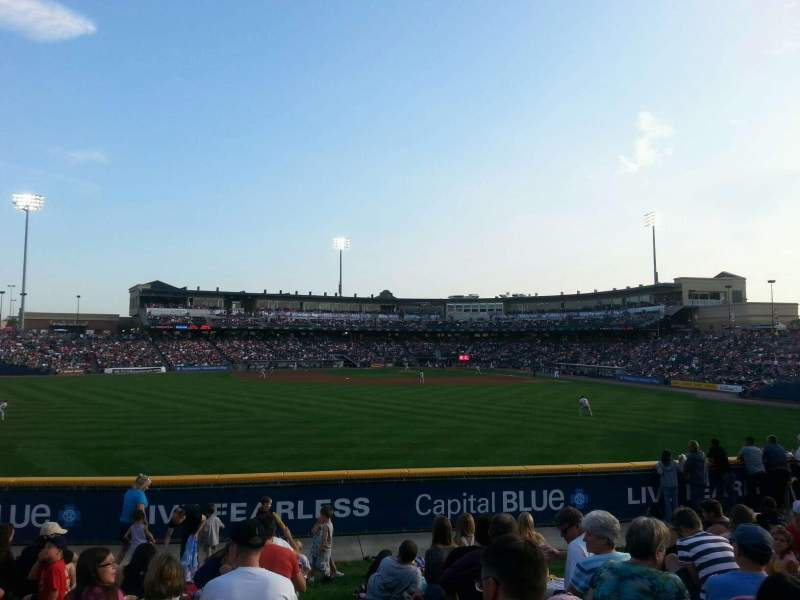 Seating view for Coca-Cola Park Section ga