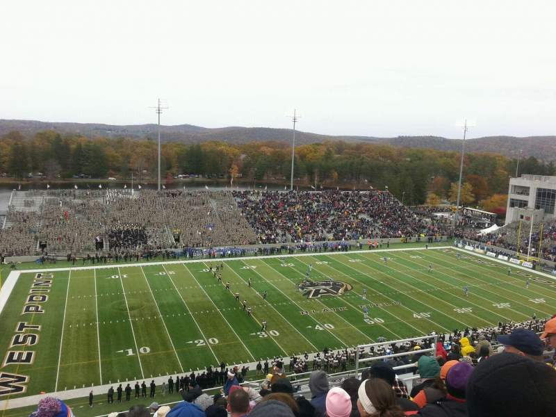 Seating view for Michie Stadium Section U-15 Row v Seat 24
