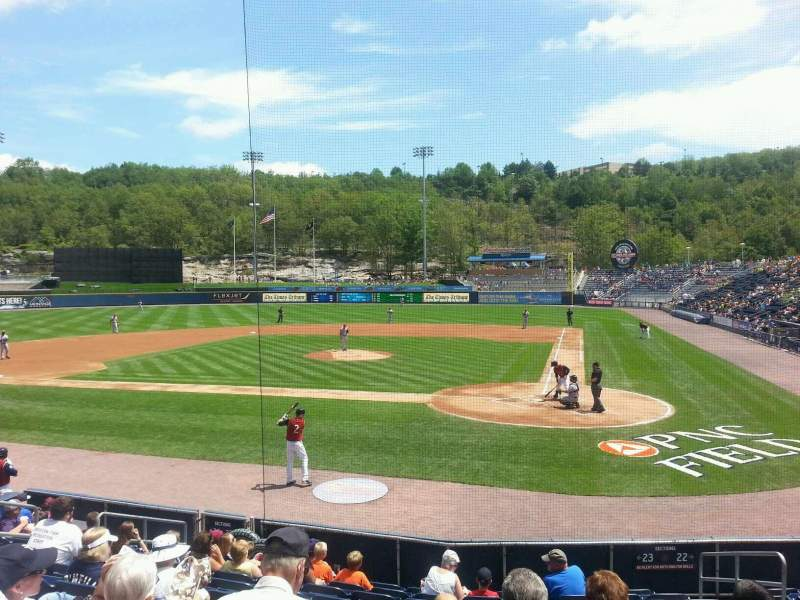 Seating view for PNC Field Section 23 Row 11 Seat 7