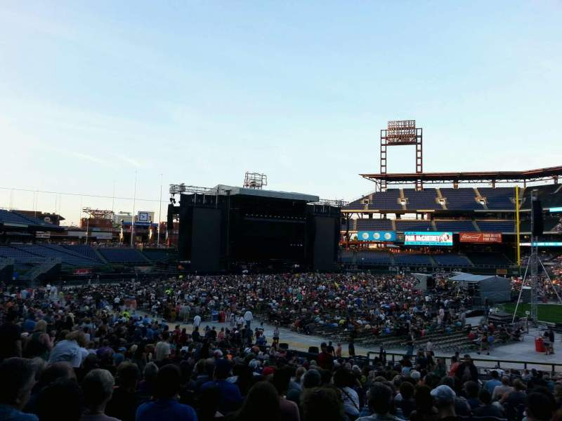 Seating view for Citizens Bank Park Section 133 Row 34 Seat 4