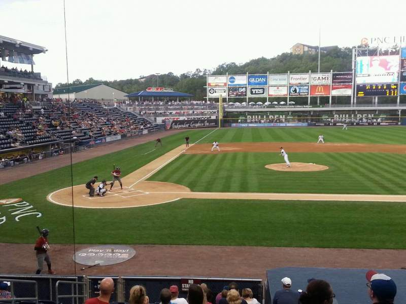 Seating view for PNC Field Section 18 Row 13 Seat 9