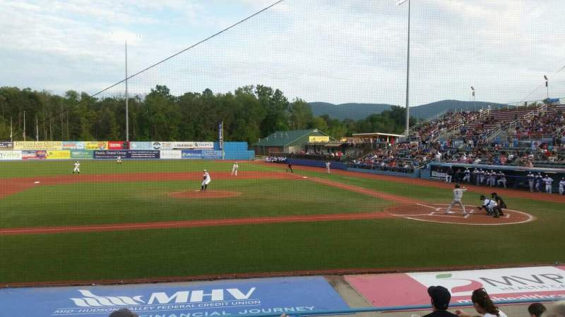 Seating view for Dutchess Stadium Section 109 Row j Seat 3