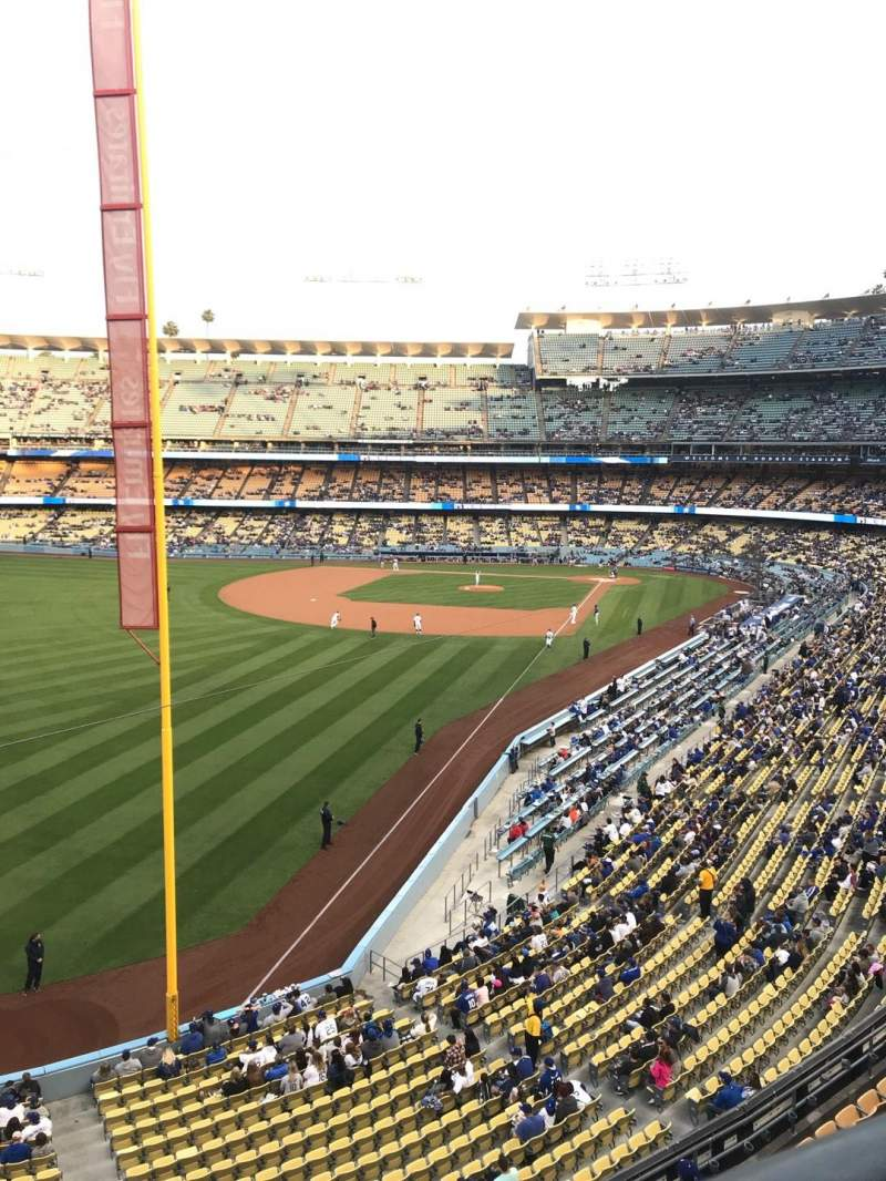 Dodger Stadium, section: 255 CLUB, row: A, seat: 1