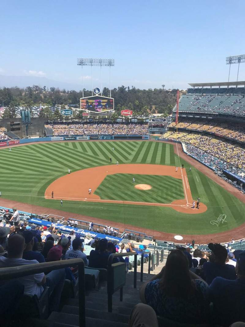 Seating view for Dodger Stadium Section 9RS Row T Seat 24
