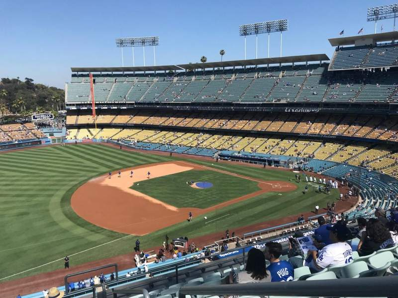 Dodger Stadium, section: 31RS, row: J, seat: 1