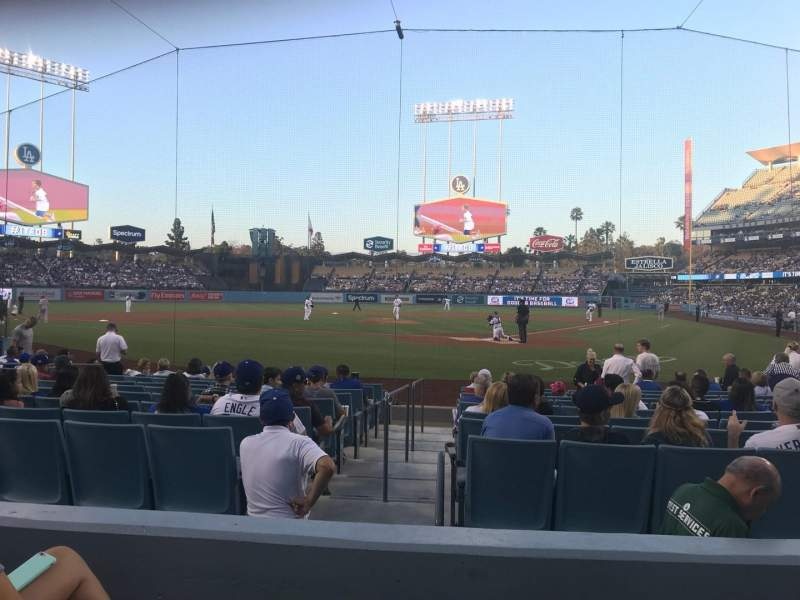 Seating view for Dodger Stadium Section 5FD Row C Seat 3