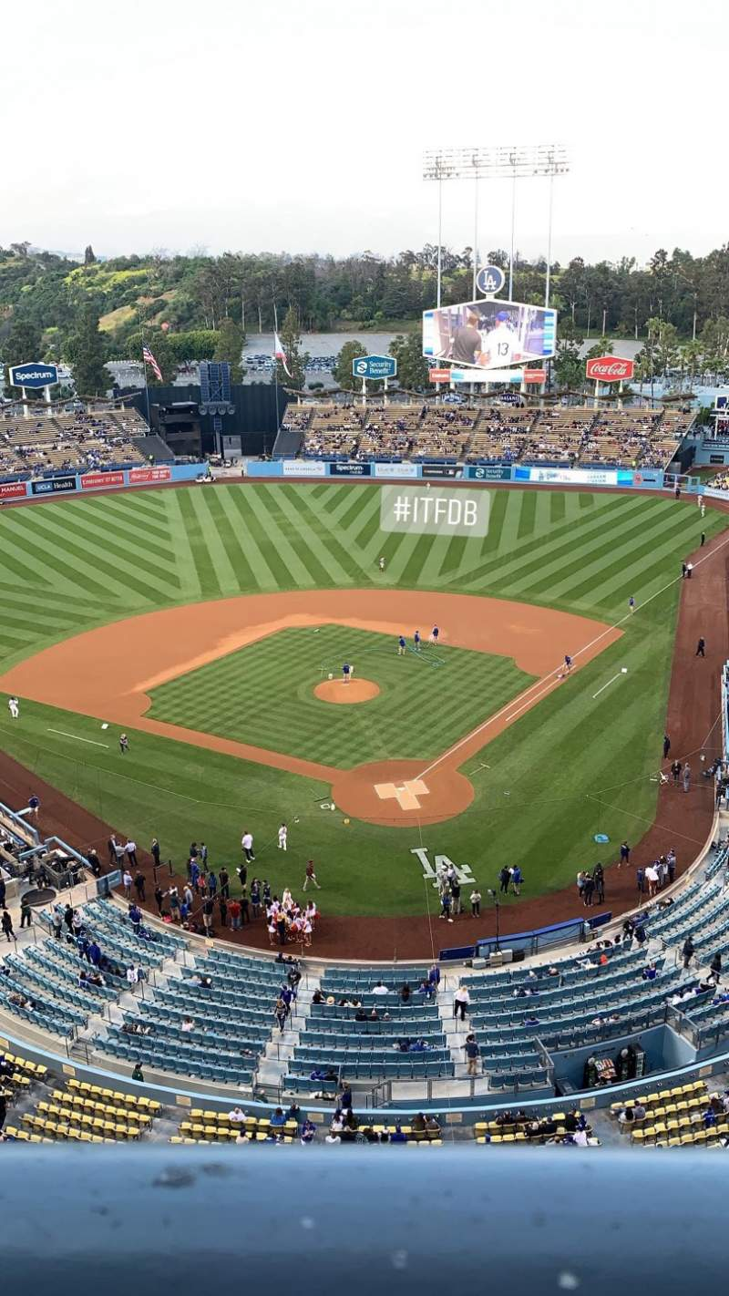Seating view for Dodger Stadium Section 5TD Row A Seat 1
