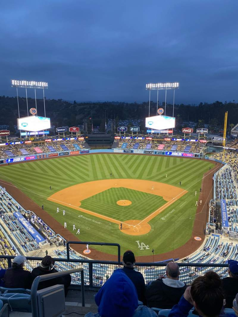 Seating view for Dodger Stadium Section 3TD Row F Seat 18