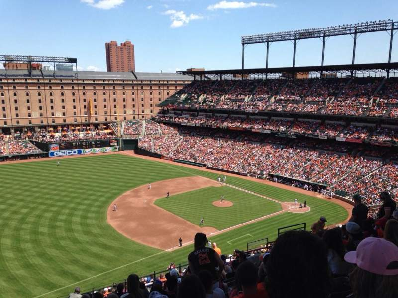 Seating view for Oriole Park at Camden Yards Section 362 Row 22 Seat 16