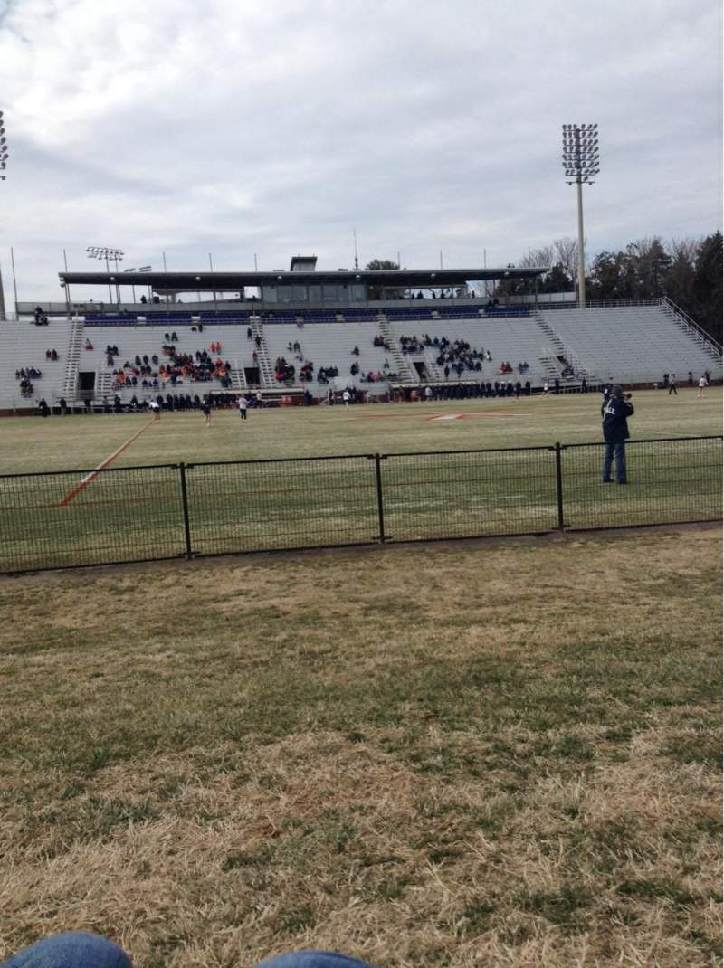 Seating view for Klockner Stadium Section GA
