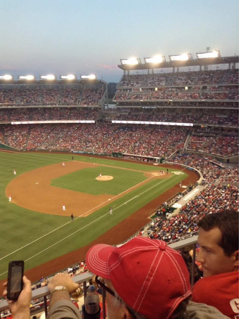 Seating view for Nationals Park Section 304 Row K