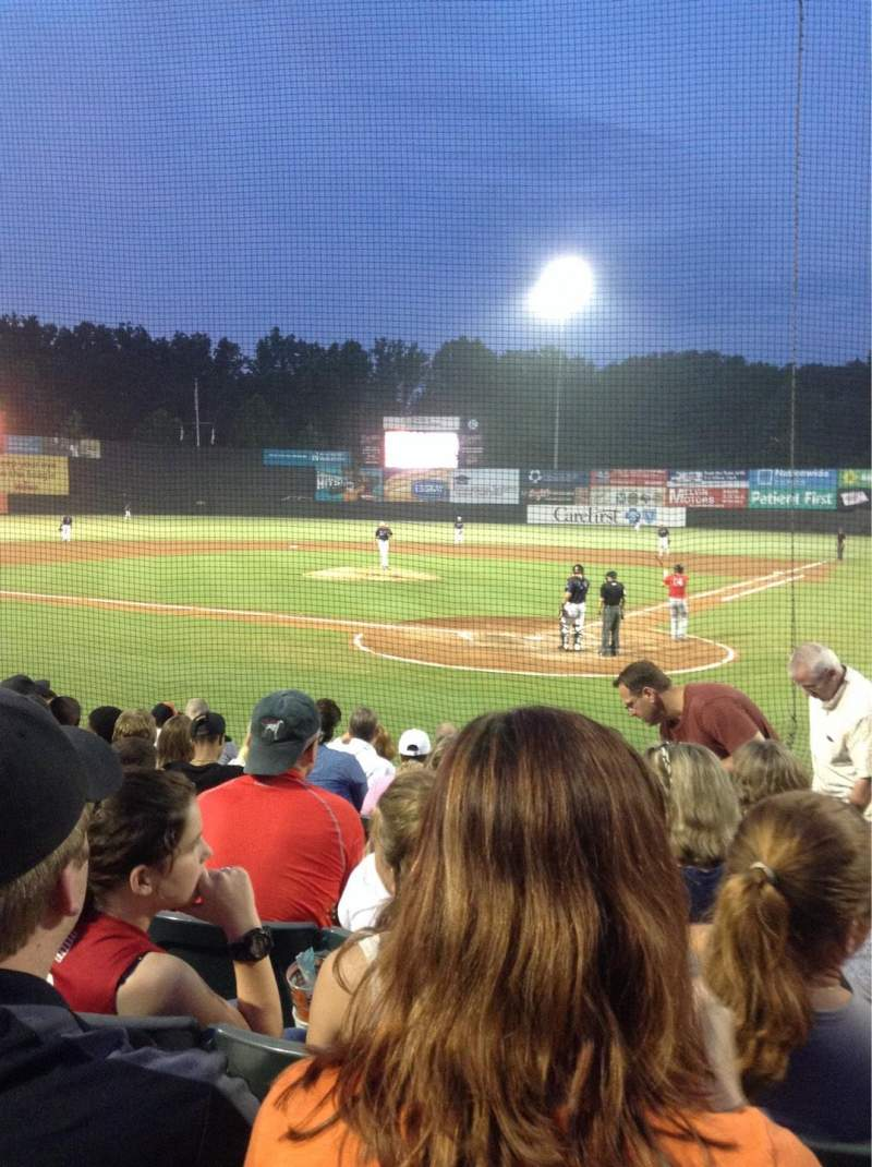 Seating view for Prince George's Stadium Section 102