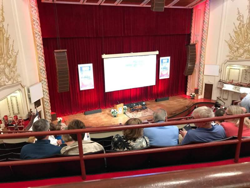 Seating view for Heinz Hall Section FAM-LA Row A Seat 121