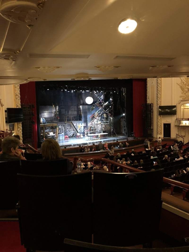 Seating view for Heinz Hall Section Grand Tier Left Row J Seat 7