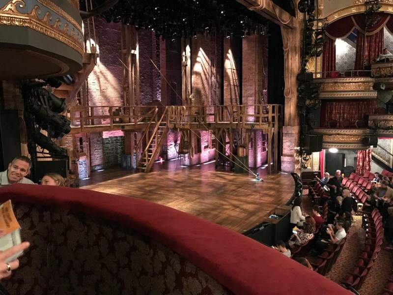 Seating view for Richard Rodgers Theatre Section BOX B Row A Seat 1