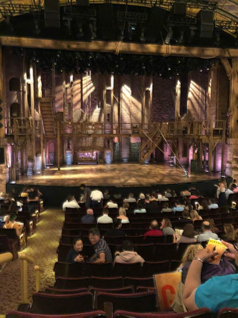 Seating view for Richard Rodgers Theatre Section Orchestra C Row P Seat 112