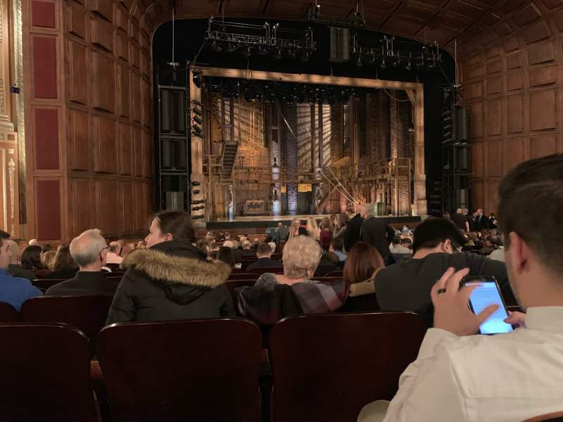 Seating view for Benedum Center Section ORCH-LC Row Q Seat 27