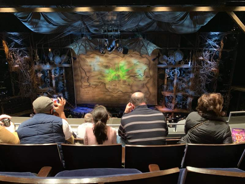 Seating view for Gershwin Theatre Section FMEZZ Row E Seat 111