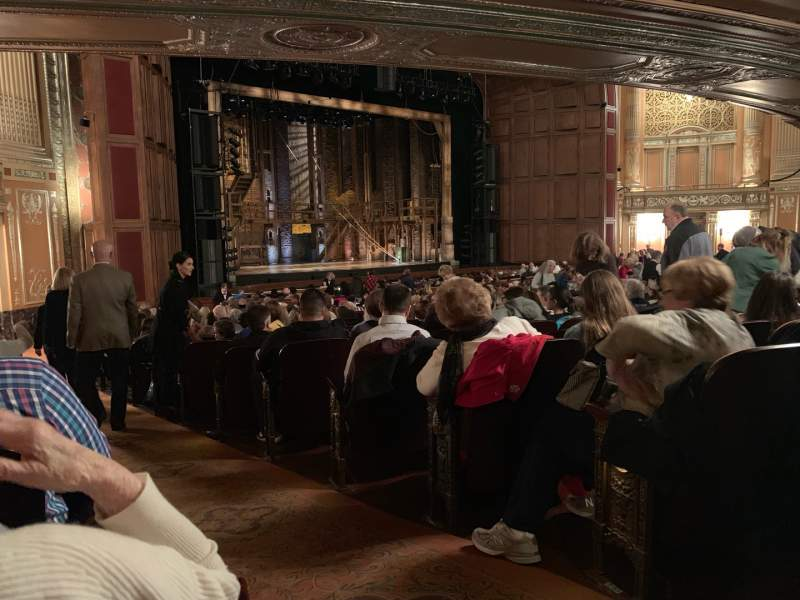 Seating view for Benedum Center Section Orchestra L Row V Seat 53