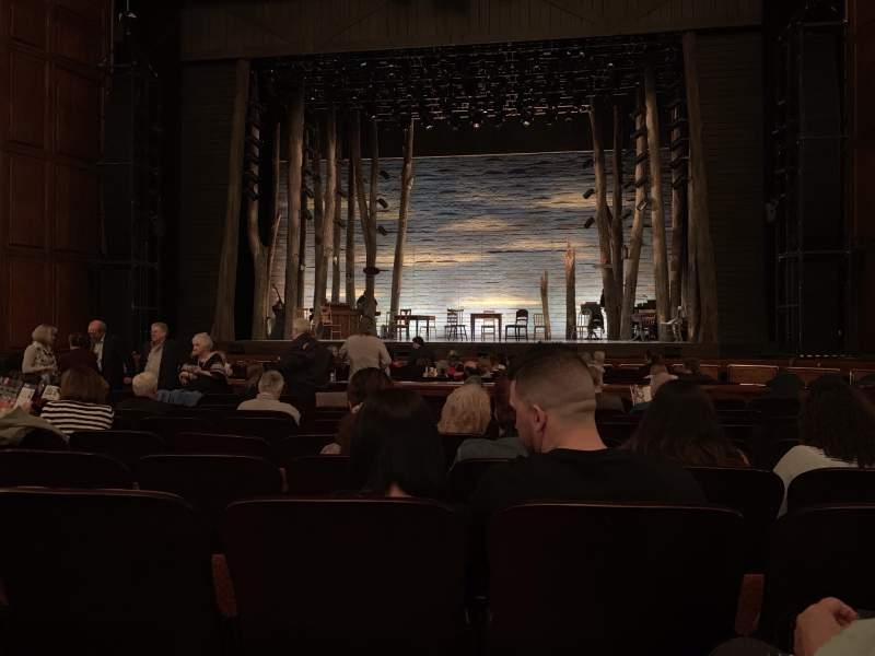 Seating view for Benedum Center Section Orchestra C Row J Seat 111