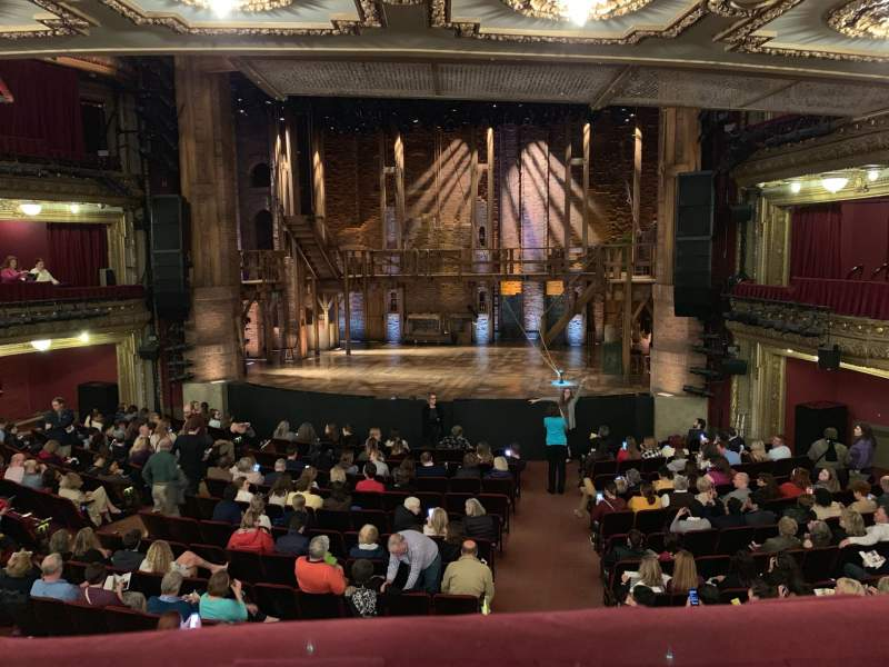 Seating view for CIBC Theatre Section Dress Circle RC Row A Seat 222