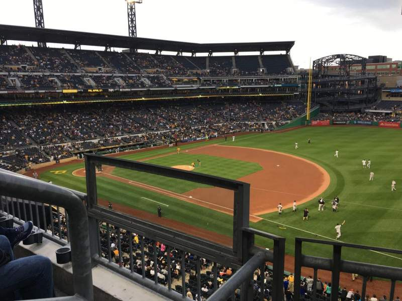 Seating view for PNC Park Section 205 Row B Seat 9