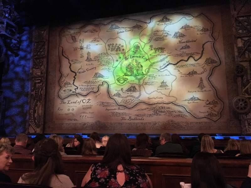 Benedum Center, section: Orch-C, row: C, seat: 113