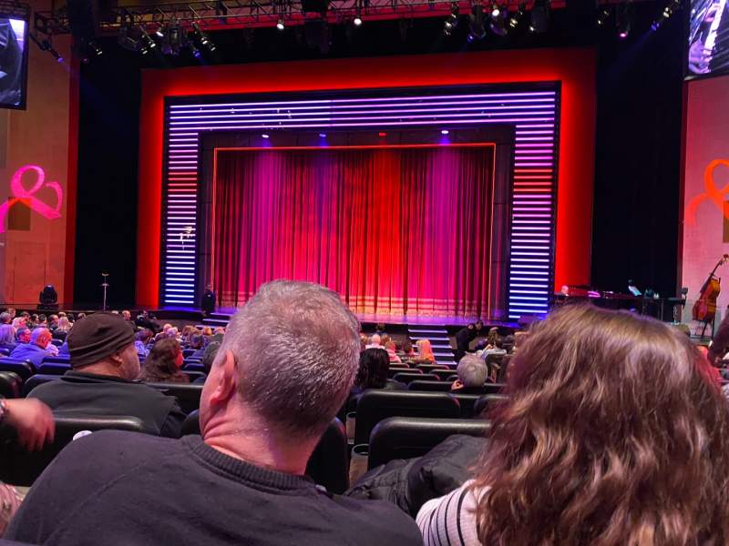 Seating view for Penn & Teller Theater Section 2 Row N Seat 4