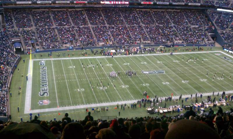 Seating view for CenturyLink Field Section 313 Row jj Seat 6