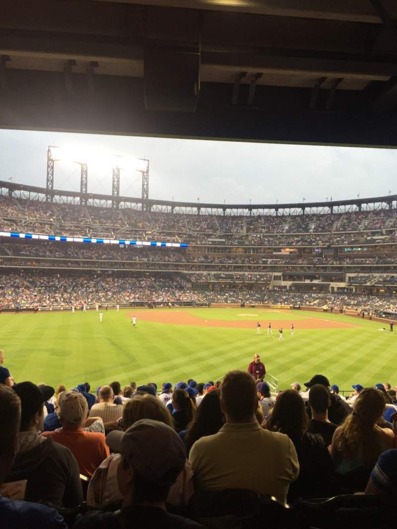 Seating view for Citi Field Section 137 Row 15 Seat 5