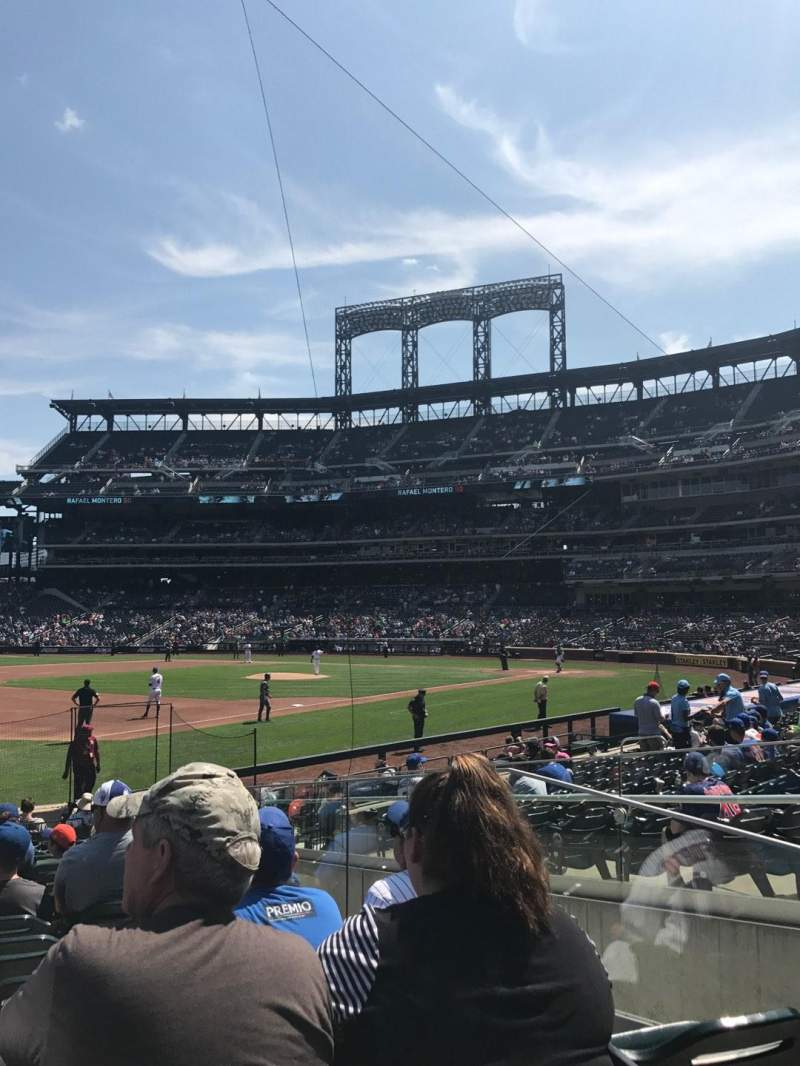 Seating view for Citi Field Section 125 Row 11 Seat 11
