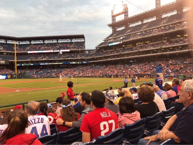 Seating view for Citizens Bank Park Section 132 Row 7 Seat 7