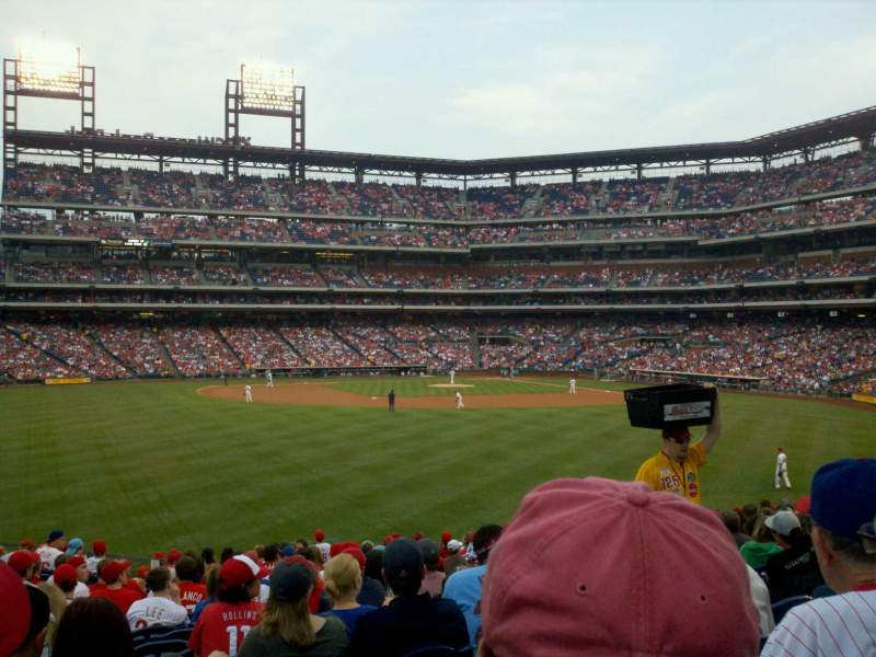 Seating view for Citizens Bank Park Section 146 Row 20 Seat 8