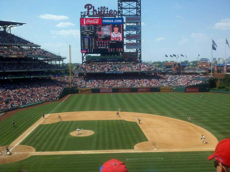 Seating view for Citizens Bank Park Section 216 Row 4 Seat 13