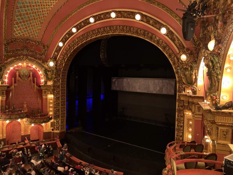 Seating view for Cutler Majestic Theatre Section Mezzanine R Row B Seat 22