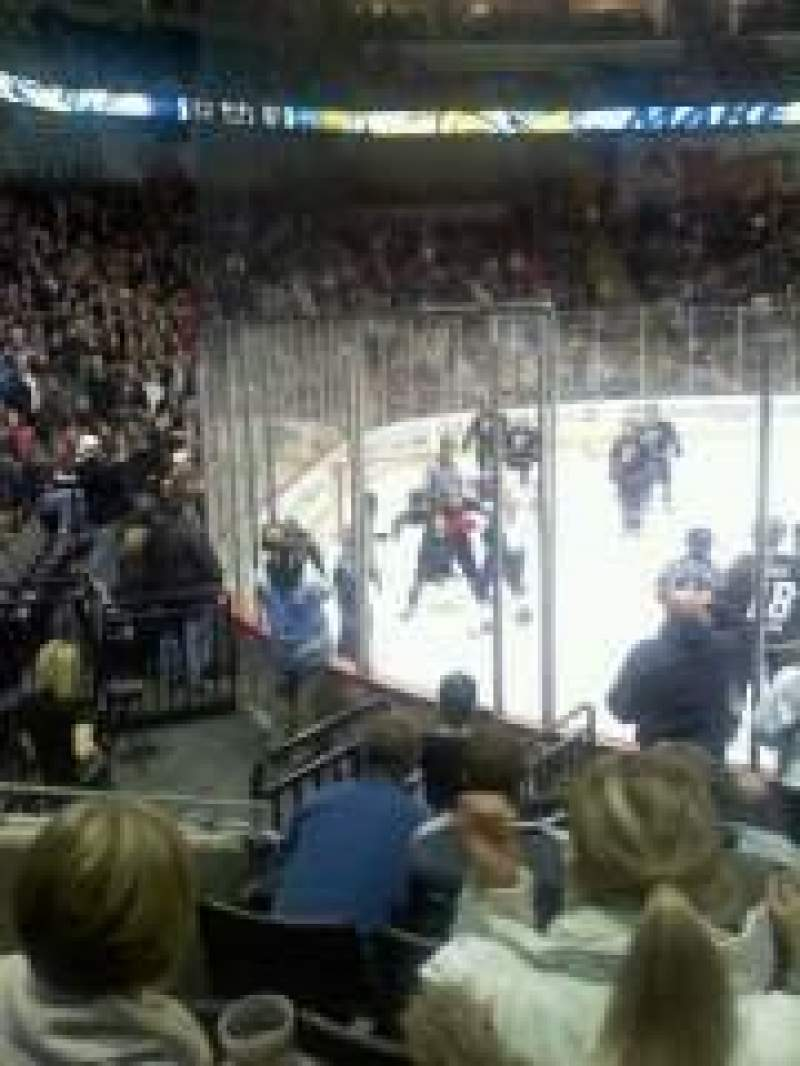 Seating view for Huntington Center Section 120 Row C Seat 6