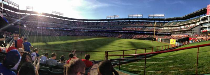 Seating view for Globe Life Park in Arlington Section 51 Row 5 Seat 14