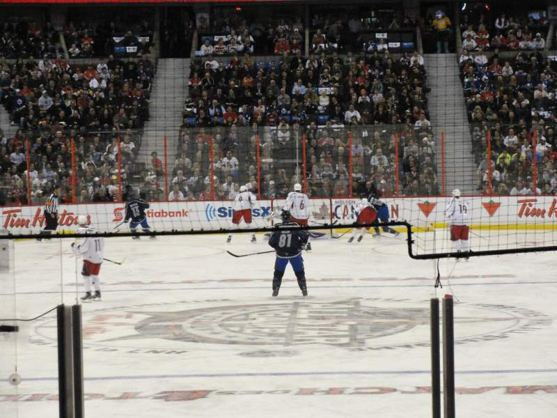 Seating view for Canadian Tire Centre Section 111 Row K Seat 8