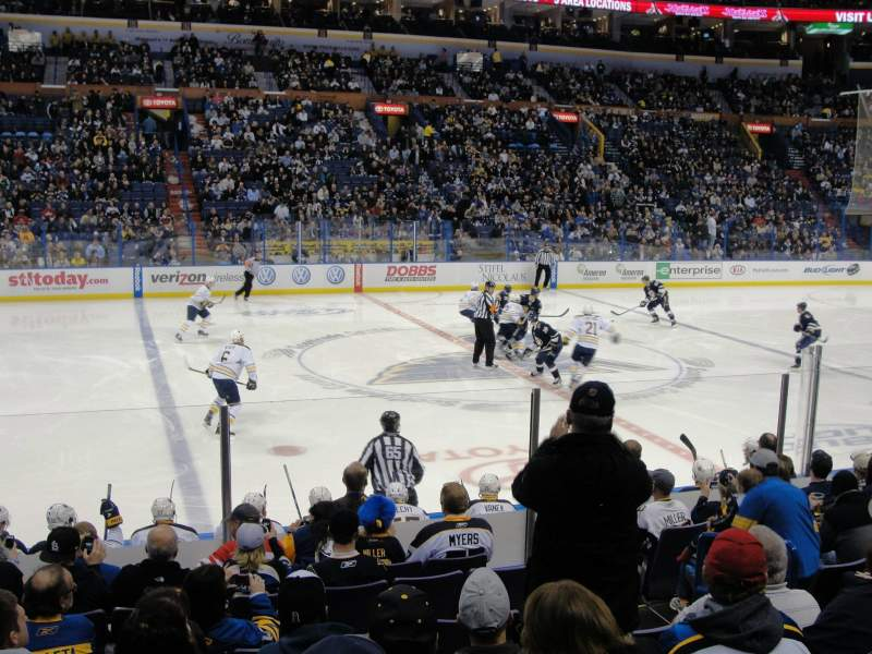 Seating view for Scottrade Center Section 104