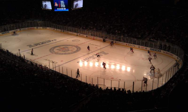Seating view for Madison Square Garden Section 214