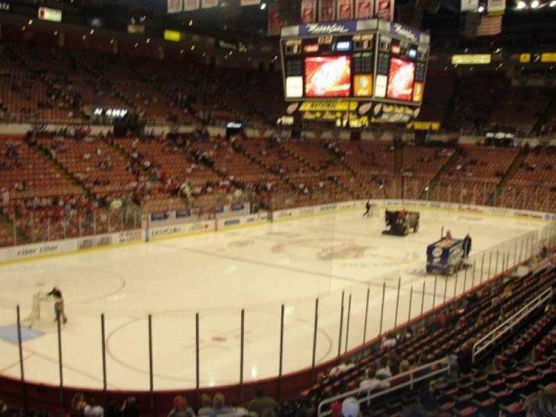 Seating view for Joe Louis Arena Section 125