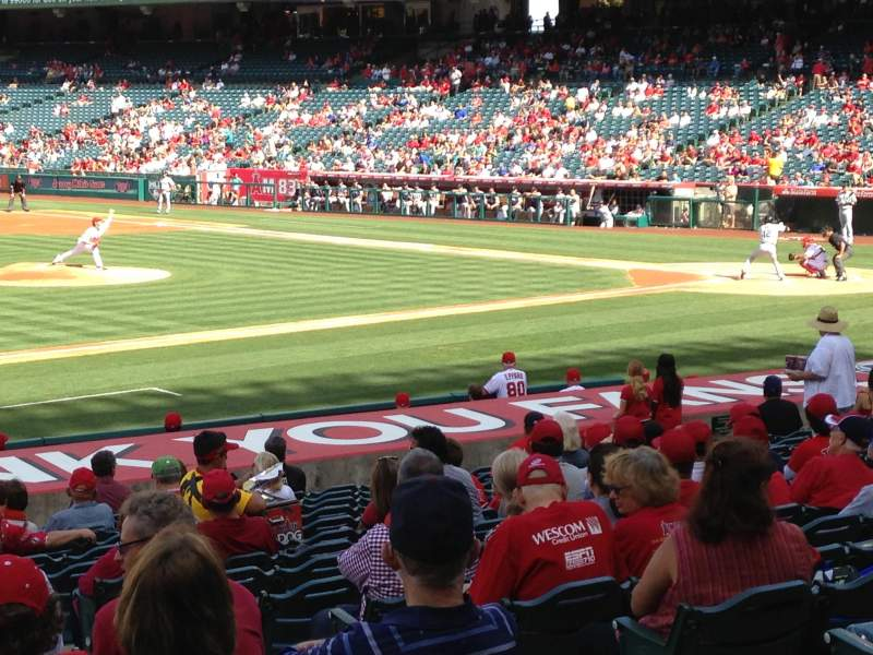 Seating view for Angel Stadium Section F111