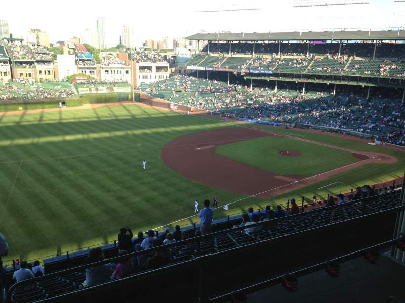 Seating view for Wrigley Field Section 407L
